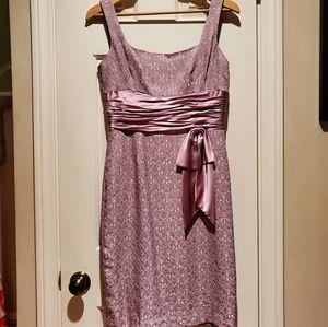 Maggy London lavendar dress